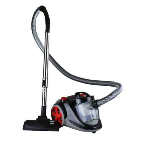 Ovente ST2000 Featherlite Cyclonic Bagless Canister Vacuum with HEPA Filter
