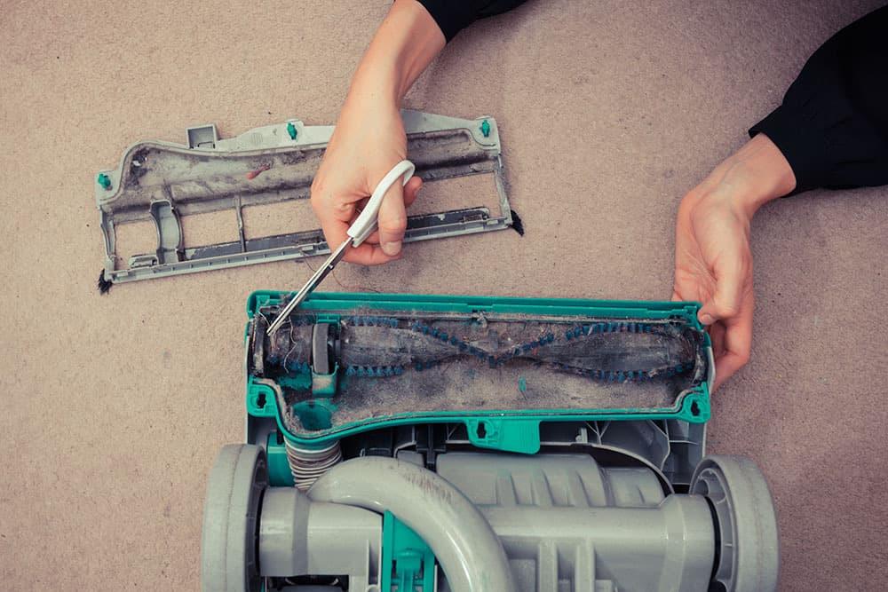 vacuum roller not spinning repair