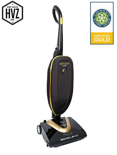 Soniclean upright - best vacuum for shag carpet