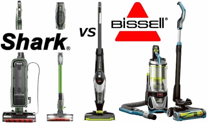 Shark vs Bissell – Which Vacuum is Best in 2018?